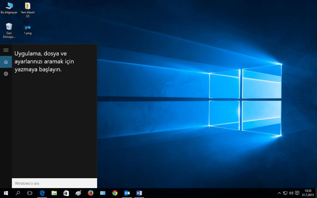 Windows 10 Screen Search