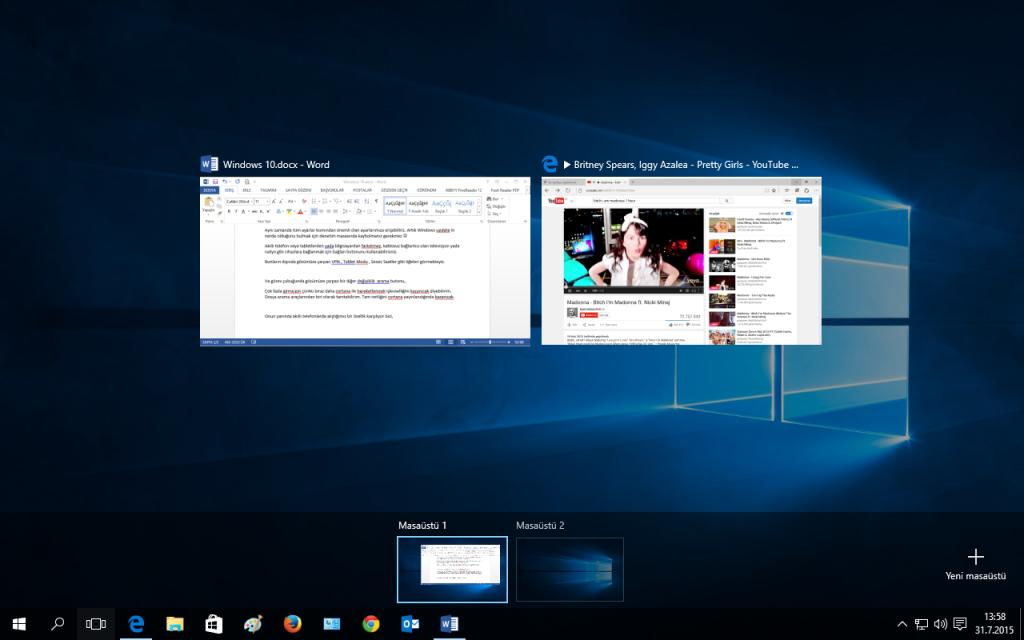 Windows 10 Screen Multi Screen