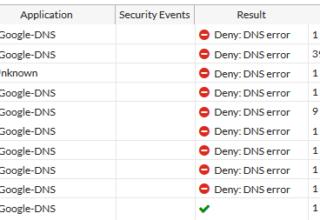 Fortigate 5.4.X DNS Sorunu