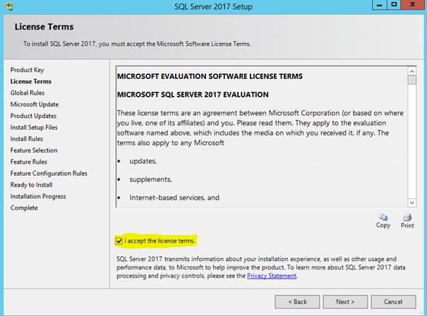 SQL Server 2017 Kurulum ve Kilit Noktaları